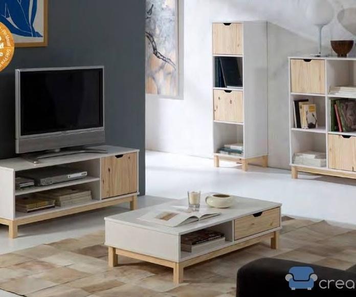 Muebles auxiliares en pino: Productos de Crea Mueble