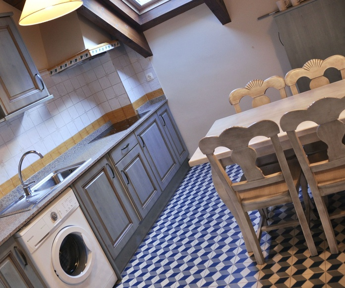 Cocina apartamento Bujaruelo.