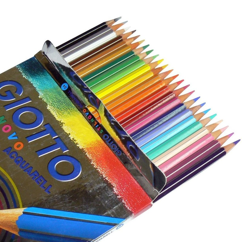 PINTURAS ACUARERABLES GIOTTO ACQUARELL. 24 COLORES