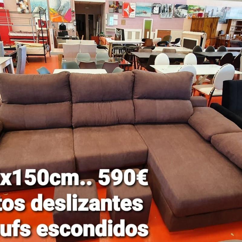 Sofá chaise longue 285x150 cm: Servicios y productos de Remar Castellón