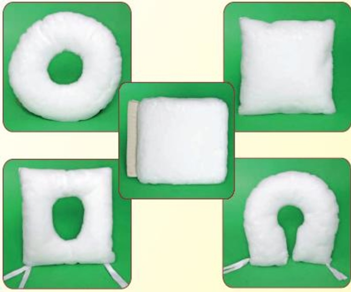 Cojines antiescaras fibra de poliéster