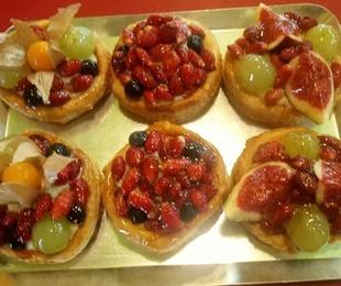 Dolços de fruita i crema