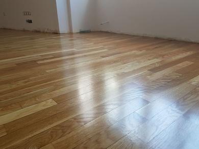 Ampliar suelo tarima en habitación con terraza