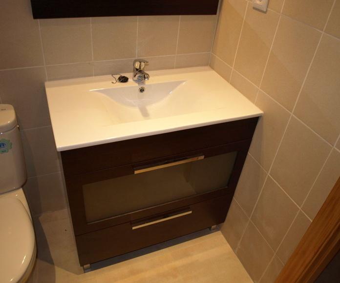 baños sencillos