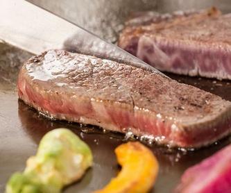 Arroz y tallarines: Cocina japonesa de Kaede Restaurante Japonés