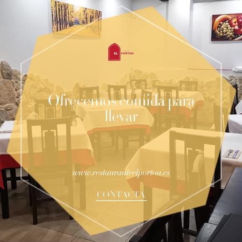 Cocina casera en Madrid | Restaurante El Portón