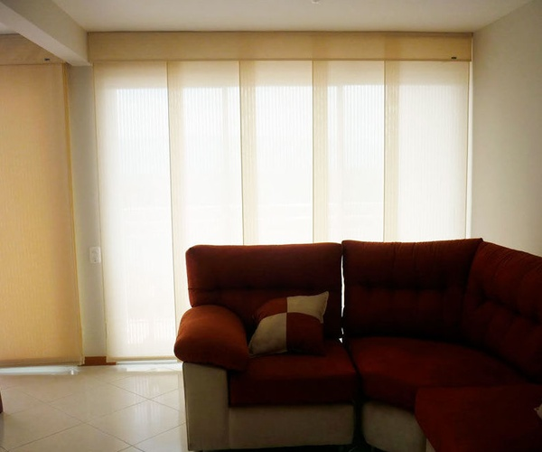 Decoración interiores. Cortinas