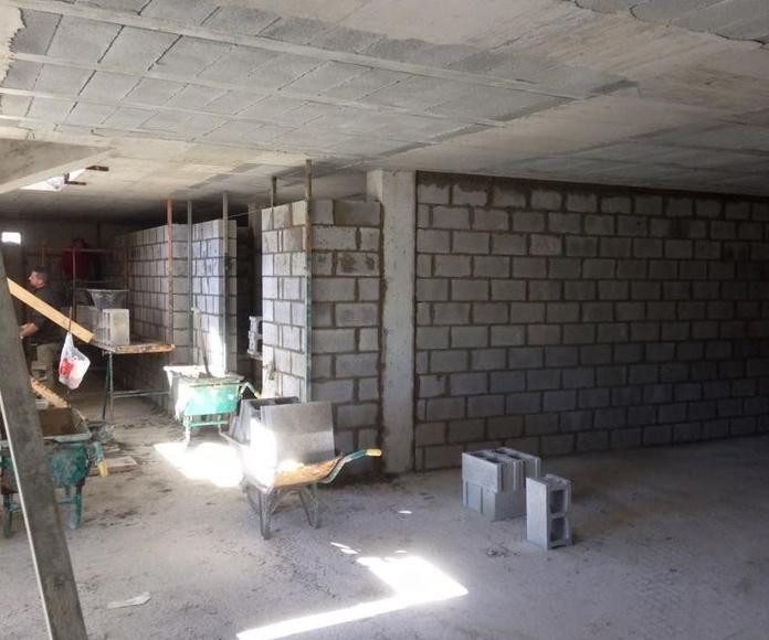 Trabajos de albañilería : Construcciones  de Construcciones Espiniella