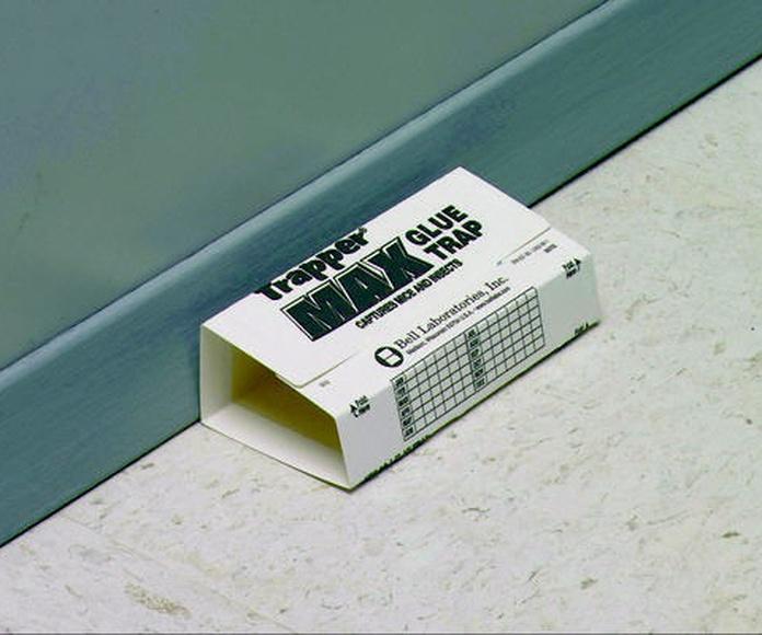 Trampa ecológica para insectos y ratones