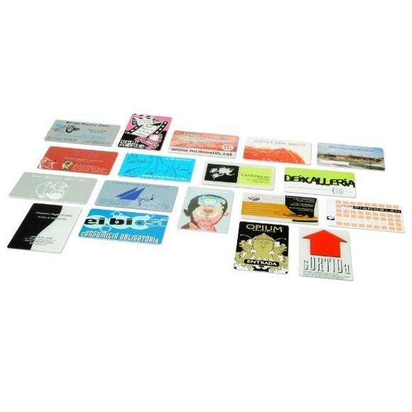 Tarjetas de plástico: Serigrafia en Granollers de Dydplas Serigràfic