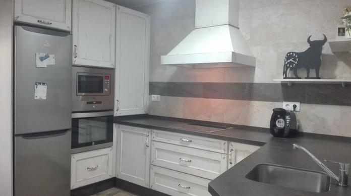 Cocina de Madera DKP con pequeños detalles