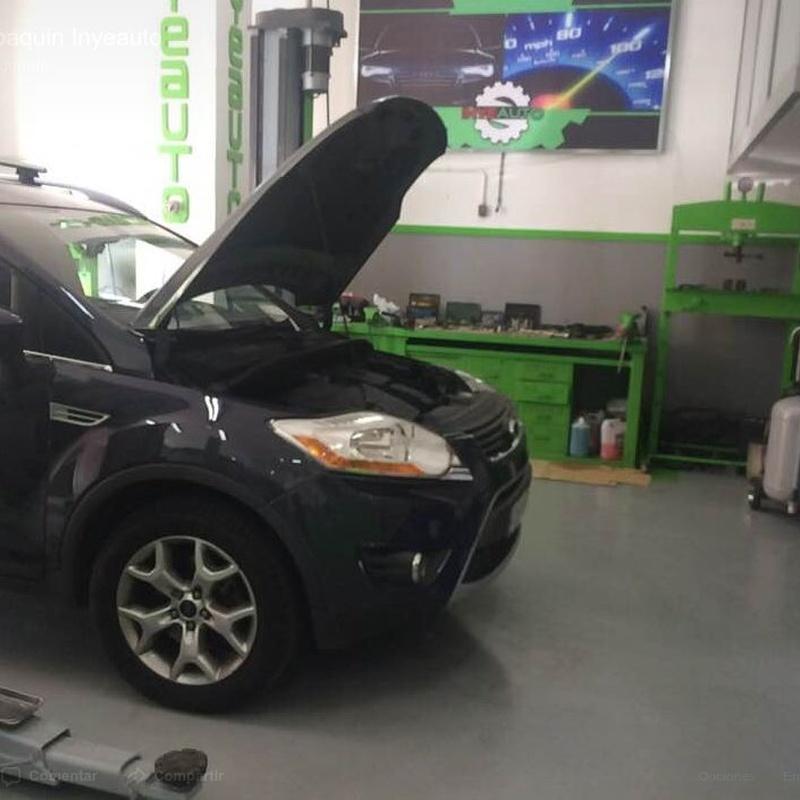 Mecánica: Servicios de Servicio Integral del Automóvil Inyeauto, S.L.