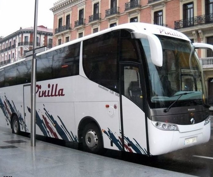 Servicio para agencias: Servicios de Autocares Pinilla, S.L.