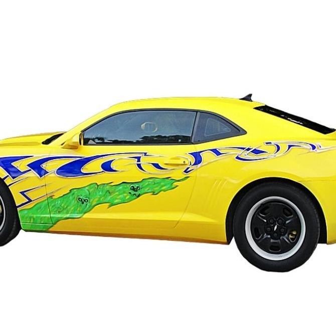 La pintura del coche en el tuning