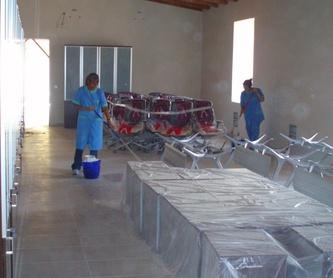 Limpieza de cristales: Servicios de Limpiezas Olalla