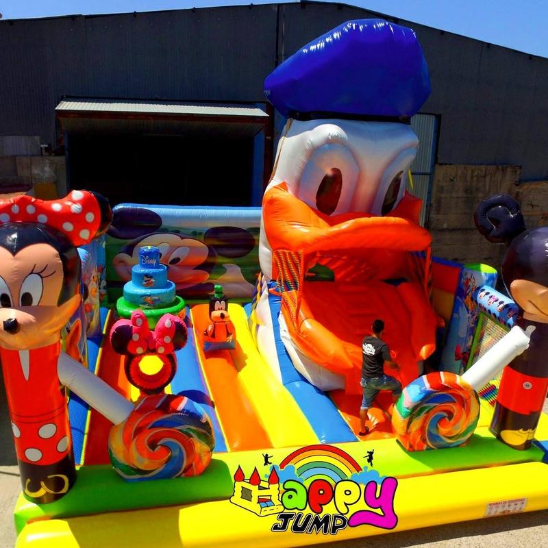 Castillo hinchable Tragon Donald : Catálogo de Hinchables Happy Jump