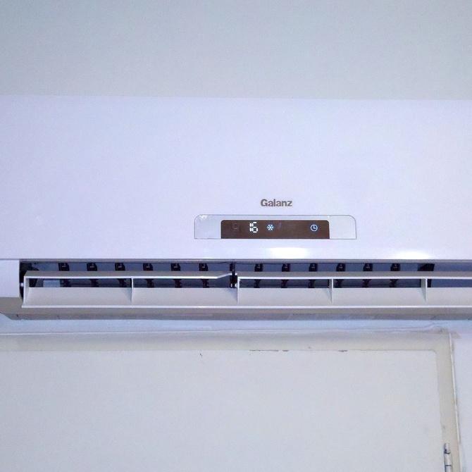 Partes e instalación del aire acondicionado Split
