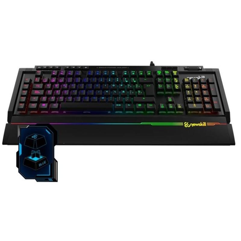 Newskill Teclado Mecánico AURA RGB Azul: Productos y Servicios de Stylepc