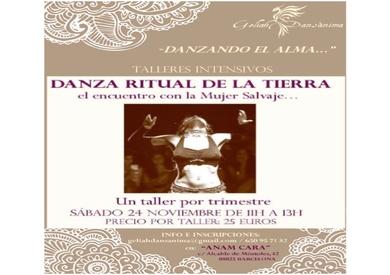 Danza Ritual de la Tierra, día 24 de noviembre de 11h a 13h