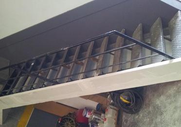Protección de escaleras