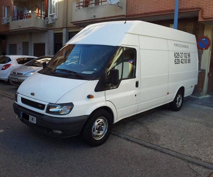 Servicio de taxi: Servicios de Mudanzas Jumbo y Ducato
