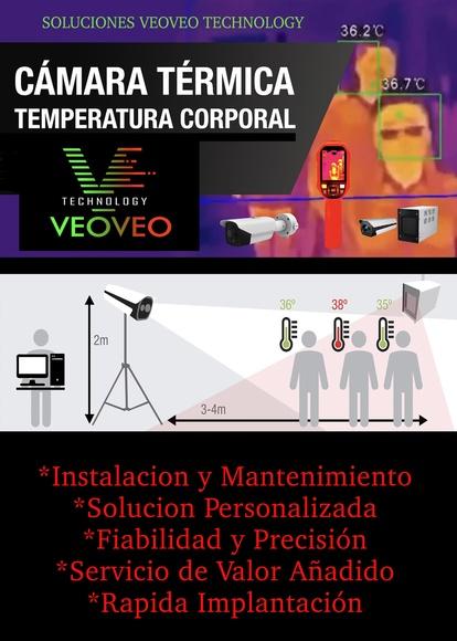 Camaras Termograficas medición de temperatura