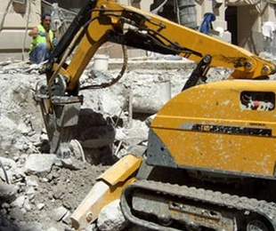 Demolición con robot