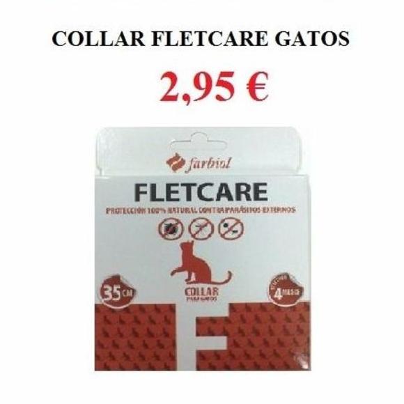 Collar Fletcare gatos 2'95€