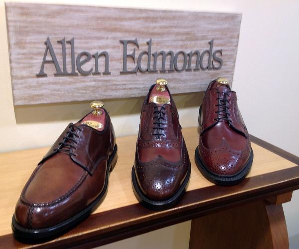 Zapatos Allen Edmonds en el barrio de Salamanca