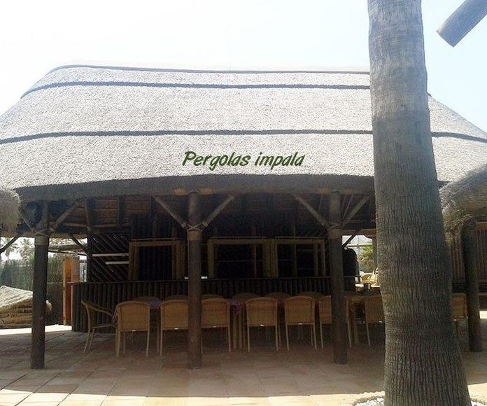 Chiringuitos: Productos de Pérgolas Impala