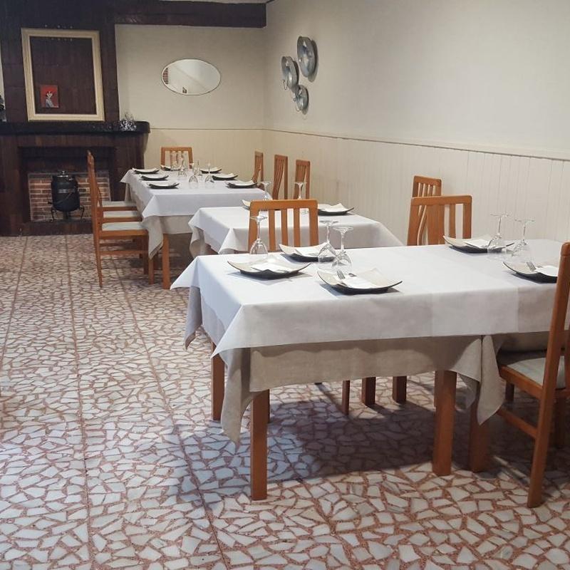 Nuestras instalaciones: Nuestra carta de Restaurante Asador El Pozo