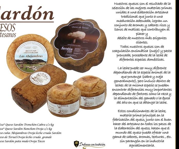 """Quesos """" Sardón """": Productos de Sabores con tradición"""