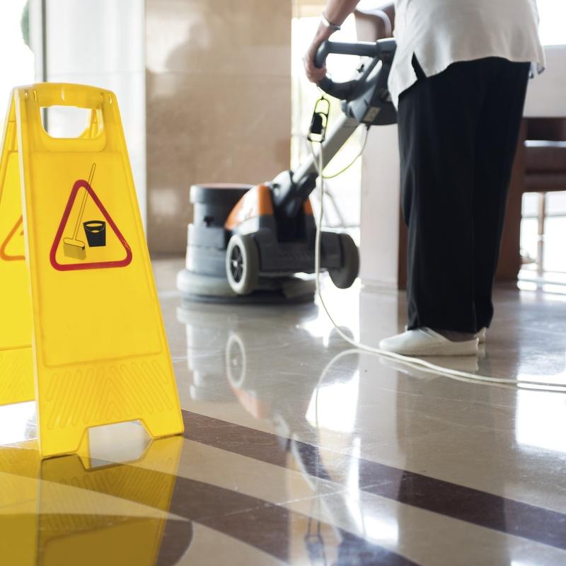 Limpieza de edificios públicos: Servicios de Limpiezas Agua Azul