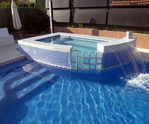 Piscinas con jacuzzi Rosell Madrid