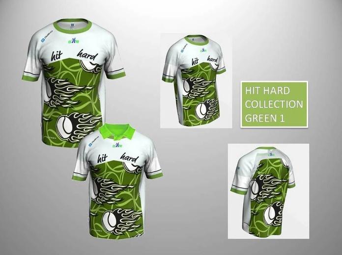 HIT HARD COLLECTION GREEN 1 :  de ES POR TRI