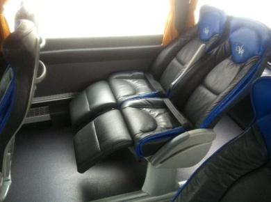 Autocares VIP para pasajeros muy exigentes