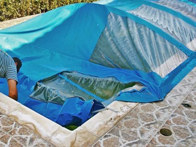 Cobertores solares para piscinas