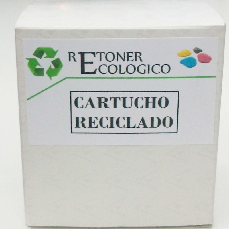 CARTUCHO HP 22: Catálogo de Retóner Ecológico, S.C.
