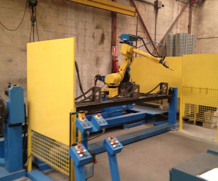 Robot de soldadura: Servicios y maquinaria  de Calderería y Obras, S.L.