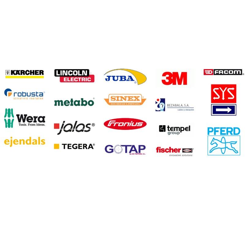 Marcas con las que trabajamos: Catálogo de Viper Suministros Industriales