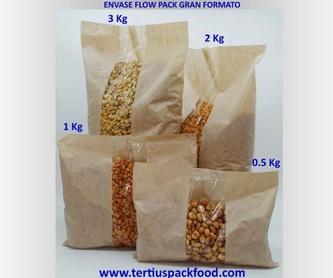Envasados con bolsa conformada desde bobina : NUESTROS  ENVASADOS de Envasados de Alimentos Bio y Gourmet, S.L