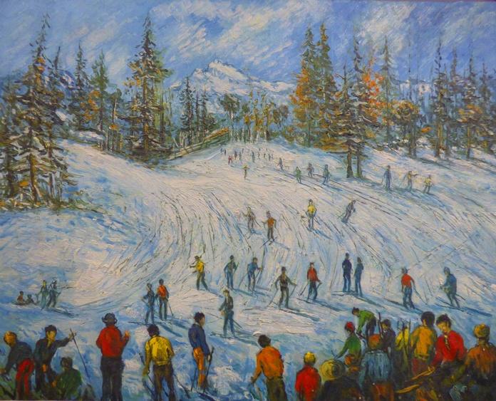 Esquiadores: CATALOGO de Quadrocomio La Casa de los Cuadros desde 1968