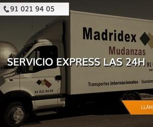 Mudanzas nacionales en el centro de Madrid | Madridex Mudanzas