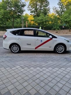 Taxi de 5 y 6 plazas