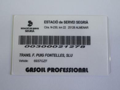 Tarjeta Gasoleo Profesional