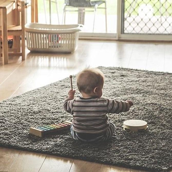 Construye un espacio de juego confortable para los más pequeños