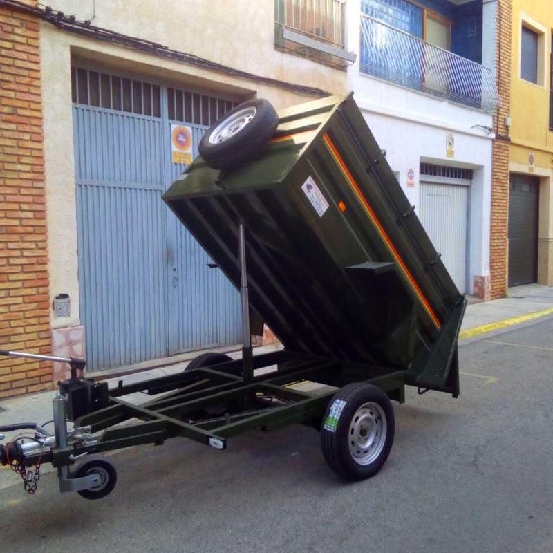 Remolque Hidráulico 008: Remolques de Remolques Garri