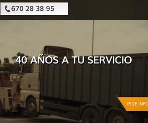 Grúas para vehiculos Hospitalet de Llobregat, Barcelona | J. Moral