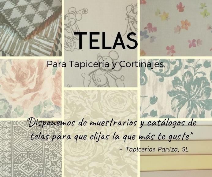 VENTA DE TELAS: PRODUCTOS & SERVICIOS of Paniza Tapicerías