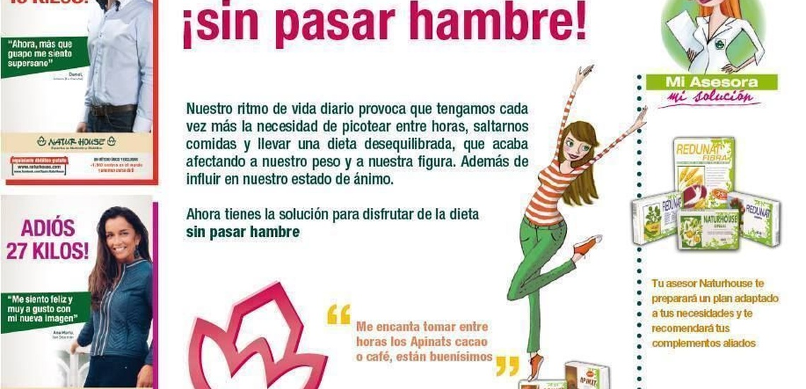 Centro para perder peso en Moratalaz, Madrid, para adelgazar sin pasar hambre